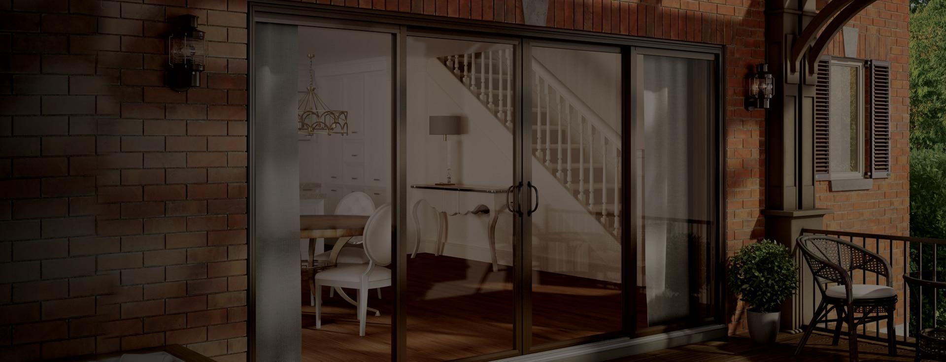 D couvrez nos mod les de porte patio en aluminium et ou pvc for Porte patio 8 pieds