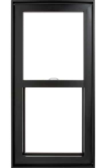 Fen tre guillotine hybride en aluminium les fen tres for Fenetre guillotine pvc france